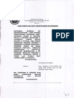 SERGIO - Human Trafficking; DOJ Resolution