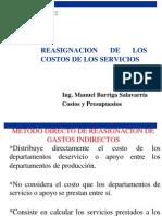 Reasignacion de Los Costos de Los Servicios Clase 6 15478