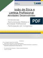 Relatório Da Comiss o de Ética e Defesa Profissional