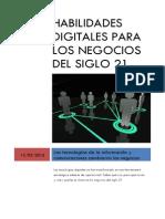 Habilidades Digitales Para Gerentes y Empresarios