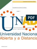 Fundamento en Gestion Integral Anyelo Jimenez Rincon