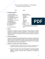 Silabus Matematica I Marketing 2015-I