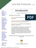 Introduccion Al Diseno Web Sitio Completo Muy Bueno