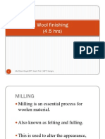 Wool Finishes