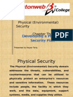 Physical Security Planning Chapter 3