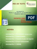 PRIMER AÑO Clase 9 Procesadores de texto.pptx
