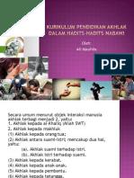 6. Kurikulum Pendidikan Akhlak