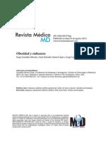 Art Rev - Obesidad y Embarazo Rev Med Md 2013 44