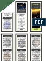 sci planets brochure