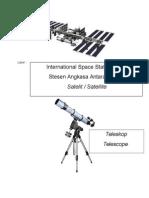 Gambar Telescope Dan Iss