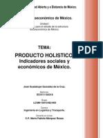 Indicadores Sociales y Economicos.
