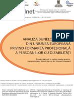 Analiza Bunelor Practici Din UE Privind Formarea Profesionala a Persoanelor Cu Dizabilitati