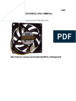 Ventilador FAN DE07015B12L con PWM