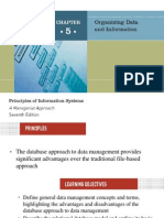 • the Database Approach to Data Management