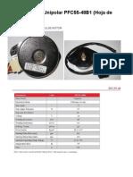 Motor PaP (a pasos) PFC55-48B1 Datasheet