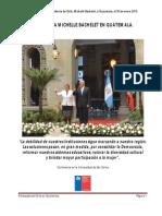 Visita Presidencial en Guatemala.