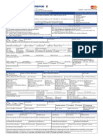 BOC Application Form PAD FA