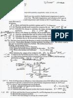 enginerring thermodynamics sample test exam