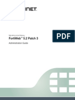 FortiWeb 5 2 Patch 3 Administration Guide Revision2