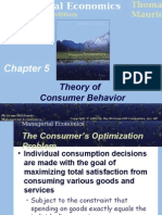 Chapter_5 Theory of Consumer Behaviour