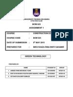 Bcm523 Green Technology