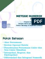 Metnum Gauss Quadrature