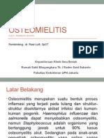 Referat Osteomyelitis - Mei 2015