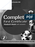 Cambridge - Complete First Certificate 2008