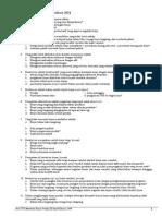 Soal Latihan Cost Accounting