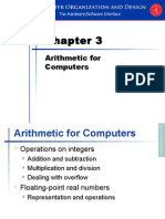 Chapter 3 Arithmetic for Computers.ppt