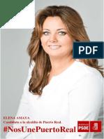 Programa Electoral PSOE Puerto Real 2015