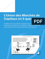 L Union des marchés de capitaux en 5 questions  -Finance Watch-pdf