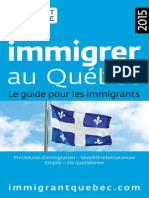 Guide Immigrer 2015