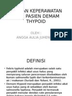 Asuhan Keperawatan Pada Pasien Demam Thypoid