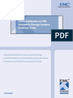 Oracle Databases on EMC Symmetrix Storage Systems Solutions Guide