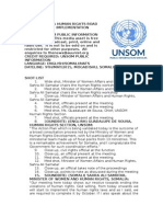 Somali Human Rights Roadmap Ready for Implementation