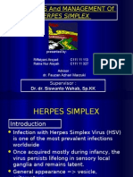Herpes Simplex Virus (Referassssst Besar)