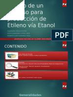 Diseño de Un Proceso Para Producción de Etileno