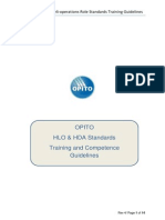Hlo Hda Training Standards