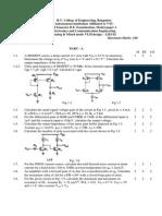 AMV – 12EC62 Model Paper 1
