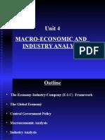 Unit 4 MacroeconomicAnd IndustryAnalysis