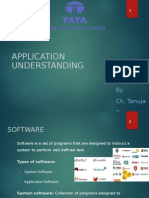 Application Understanding
