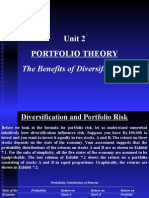 Unit 2 PortfolioTheory