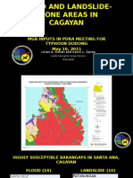 Flood-susceptible areas in Cagayan, Philippines by the GeoMines Bureau  #DodongPH (Mgb May 10)
