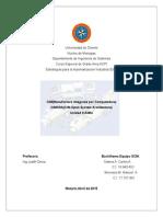 CIM (Manufactura integrada por computadora). CIMOSA (CIM Open System Architecture)