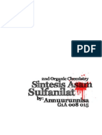 Laporan Praktikum Kimia Organik II - Sintesis Asam Sulfanilat