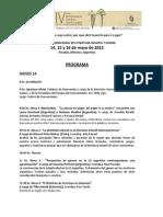 Programa Foro 2015