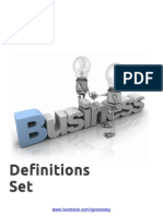 IGCSE Today - Business Definitions