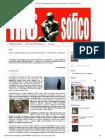 CINE FILOSÓFICO_ Theo Angelopoulos y _La Mirada de Ulises__ Civilización y Barbarie