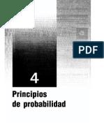 Capitulo 4 - Principios de Probabilidad